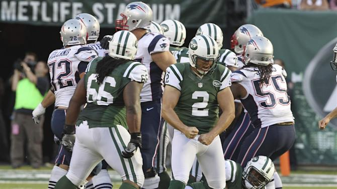 Folk's 42-yard FG leads Jets past Pats 30-27 in OT