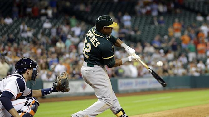 A's get Lester, Gomes from Red Sox for Cespedes