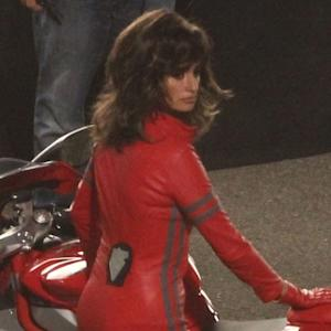 Penelope Cruz Sizzles in a Skintight Red Jumpsuit for 'Zoolander 2'
