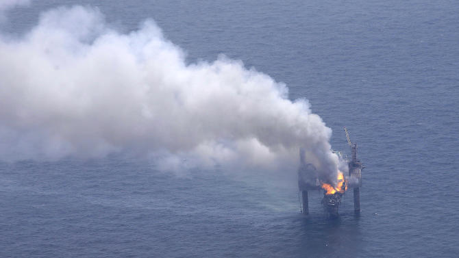 Fire out on Gulf well that 'snuffed itself out'