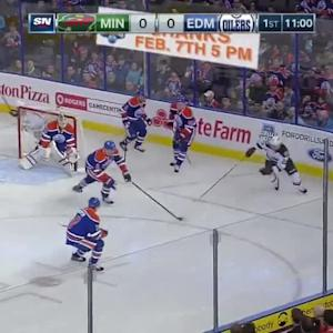 Minnesota Wild at Edmonton Oilers - 01/27/2015
