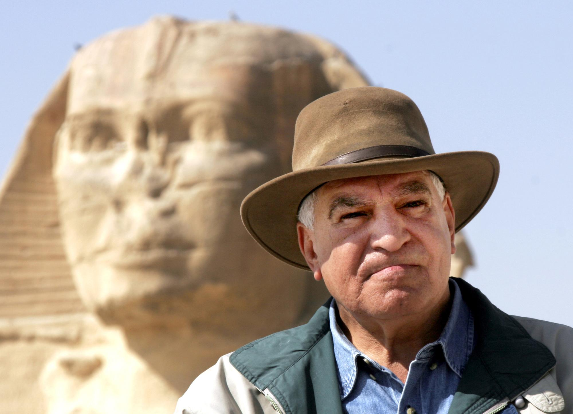 Egypt antiquities showman tells the world it's safe to visit