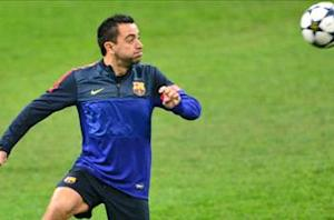 Xavi ruled out of Rayo fixture