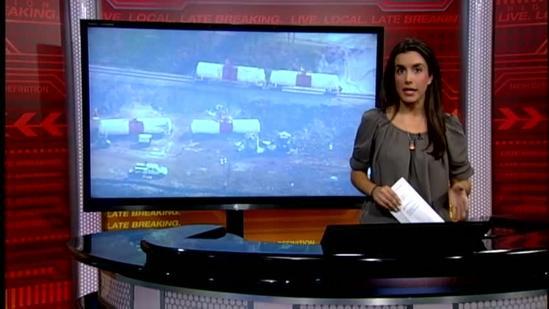 Residents near train derailment file lawsuit