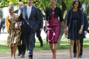 Obamas attend Easter service at historic D.C. church