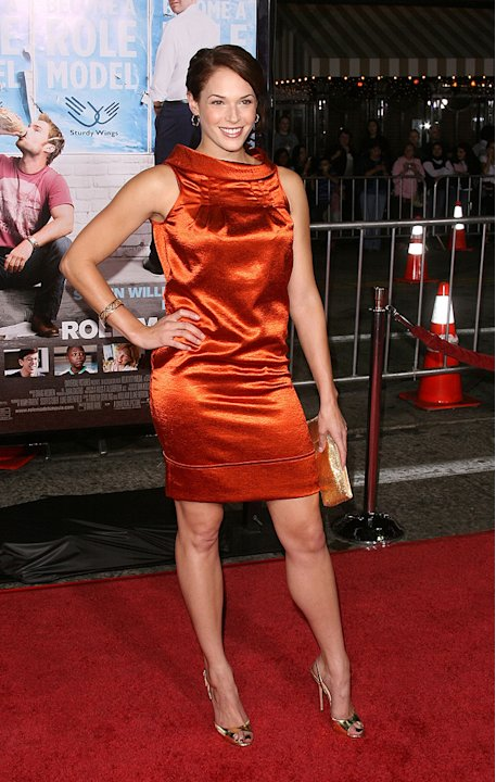 Role Models LA Premiere 2008 Amanda Righetti