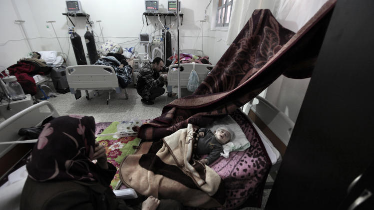 Wounded presage health crisis for postwar Syria