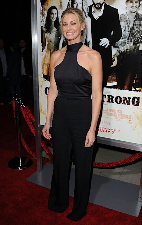 Country Strong LA Premiere 2010 Faith Hill