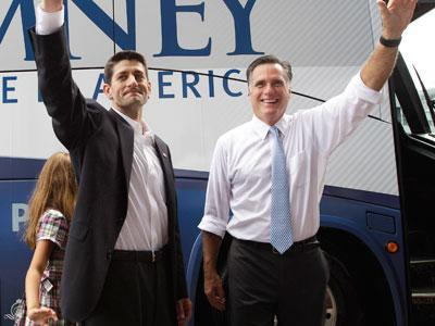 It's Paul Ryan: Romney picks Wis. Rep. for No. 2