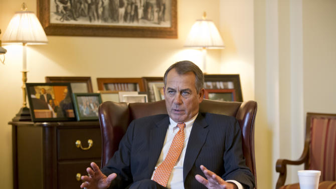 Boehner: Up to Democrats to prevent budget cuts
