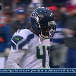 Seattle Seahawks cornerback Byron Maxwell gets 2nd interception
