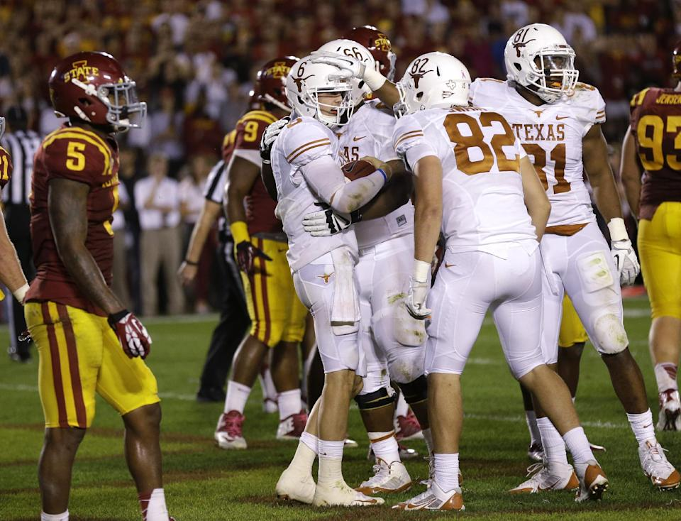 Texas rallies past Iowa State, 31-30