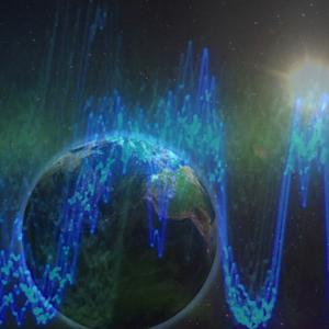 RADIO WAVES FROM DEEP SPACE