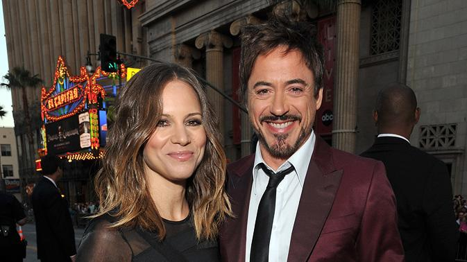 The Hangover Part II LA Premiere 2011 Susan Downey Robert Downey Jr.