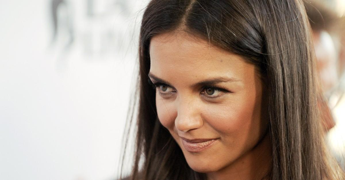 Katie Holmes Leaves Little To The Imagination