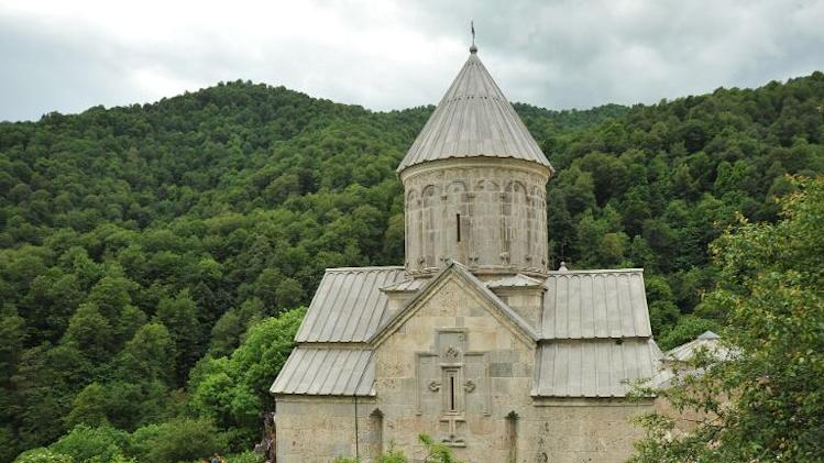 13th-century Haghartsin monastery, some 110 km northeast of Yerevan, pictured on June 8, 2013