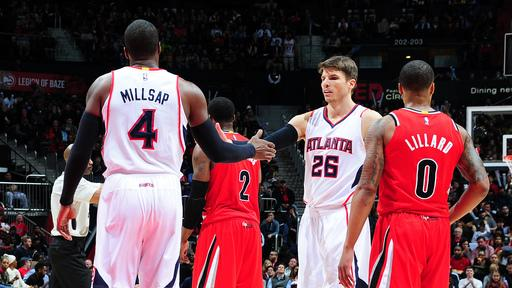 Hawks keep streak alive, top Trail Blazers 105-99