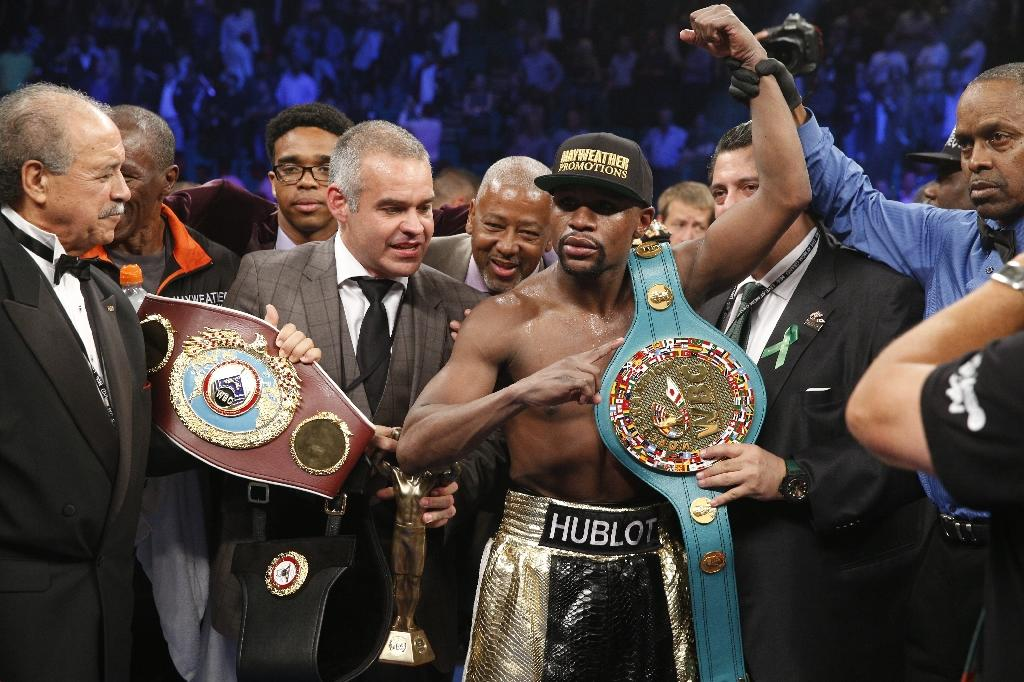 Floyd Mayweather Jr. stripped of WBO title after failing to pay sanction fee