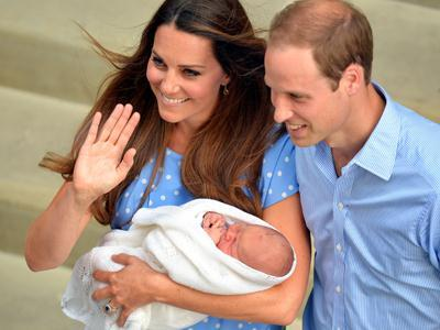 Will, Kate and the New Prince Go Home