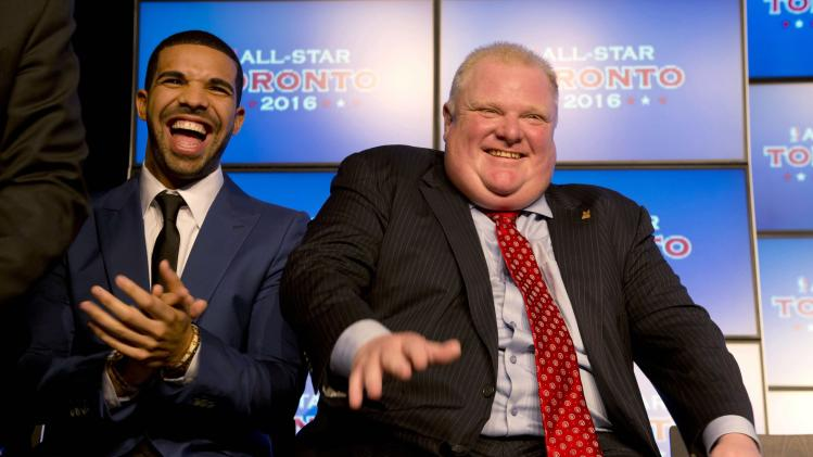 From rapper to Raptor, Drake takes on new role