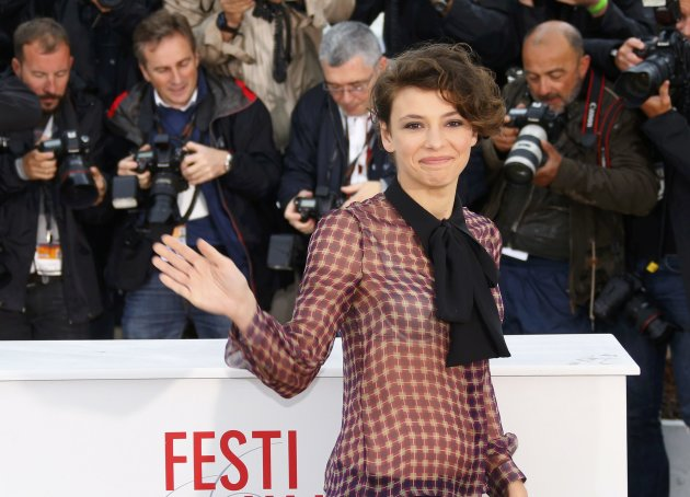 Cast member Trinca poses during a photocall for the film Miele at the 66th Cannes Film Festival in Cannes