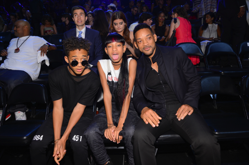 Will SMith Jaden Smith Willow SMith