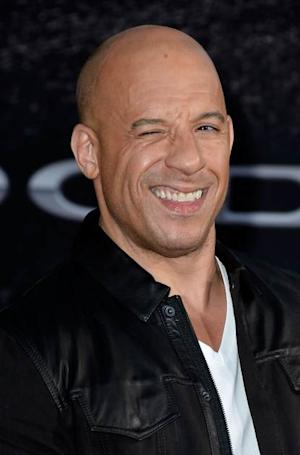 Vin Diesel arrives at the premiere of 'Fast & Furious 6' on May 21, 2013 in Universal City, Calif. -- Getty Images