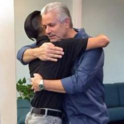 Man Reunites With Officer Who Saved Him When He Was Abandoned As A Newborn