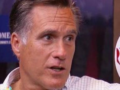 Romney: 'It Is a Jobless …