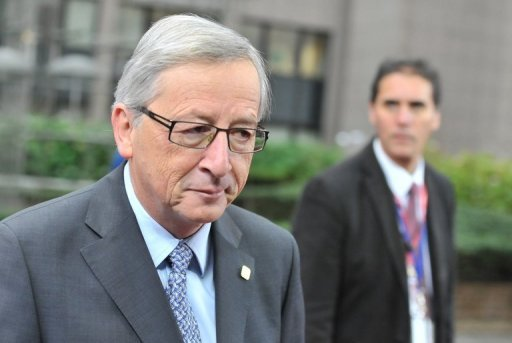 Eurogroup head Jean-Claude Juncker, pictured last month, announced that he is stepping down as eurozone finance ministerial chairman as of the end of the month