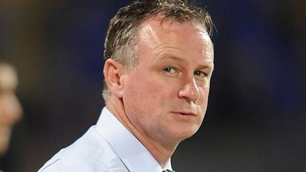 Michael O'Neill, pictured, has given Jonny Steele the chance of proving himself in the Northern Ireland squad