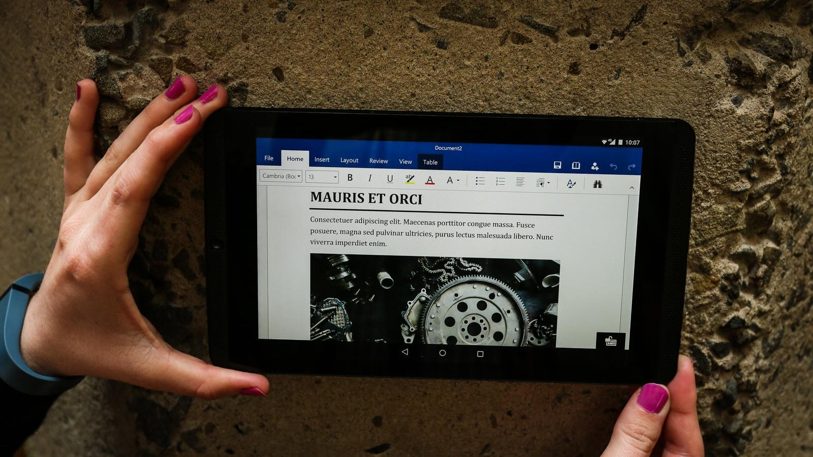 Microsoft doubles down on Office apps, services for Android tablets