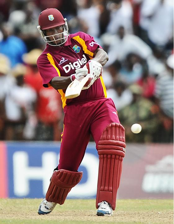 West indies cricketer Johnson Charles pl