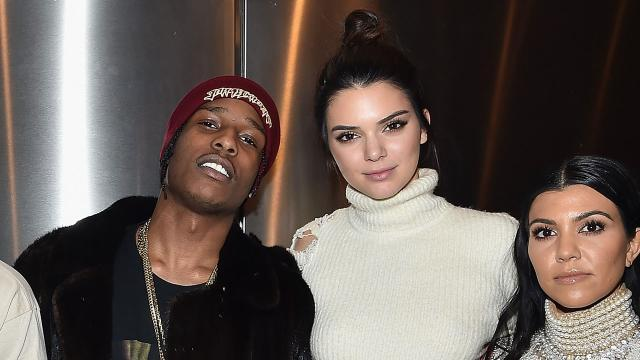 Kendall Jenner and A$AP Rocky Reunite in Paris, the City of Love -- See the Pic!