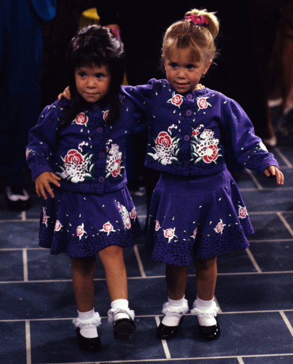 Mary Kate Olsen and Ashley …