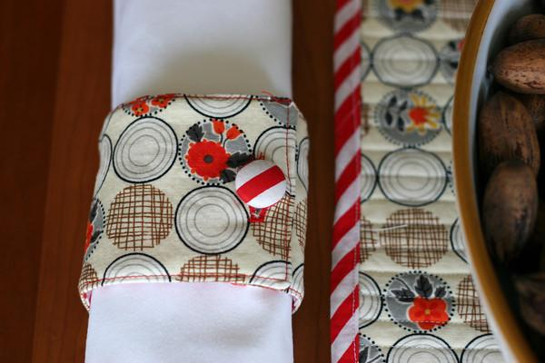 Reversible Napkin Rings