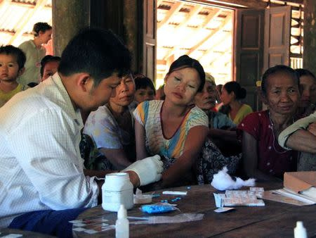 Fight against malaria unites old foes in Myanmar
