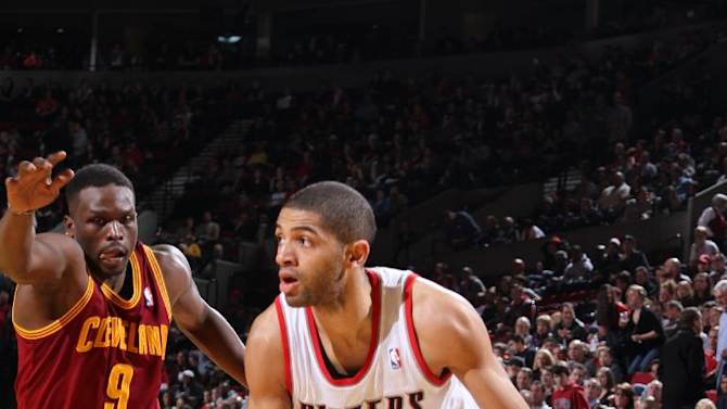 Blazers best Cavaliers, 108-96 for 3rd straight