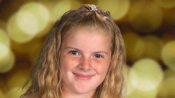In this undated photo released by the Clayton, N.J. Police Department missing Autumn Pasquale, 12, of Clayton, N.J. is shown Authorities say Autumn Pasquale was last seen on her white bicycle on West High Street in Clayton at 12:30 p.m. Saturday, Oct. 20, 2012. Her family reported her missing at 9:30 p.m. Police are still searching for her. Anyone with information is asked to contact the Clayton Police Department at (856) 881-2301. (AP Photo/Clayton, N.J. Police Department)