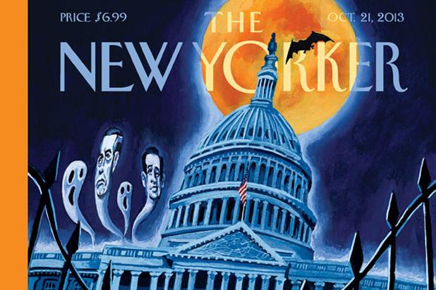 Capitol Hill Is Haunted on 'New Yorker' Government Shutdown Cover (Photo)