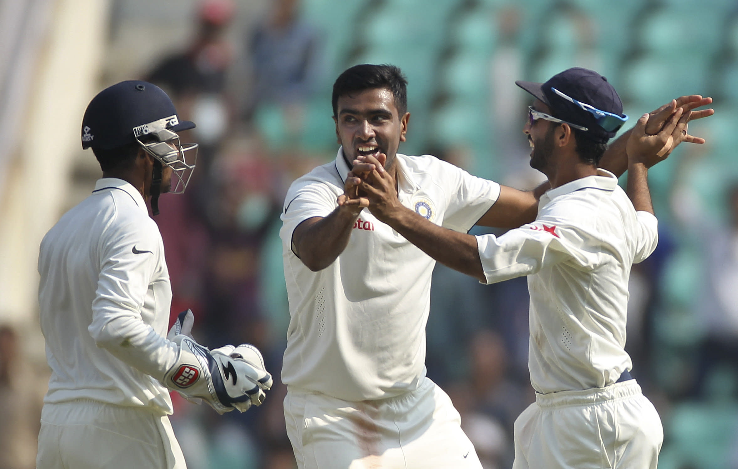 Ashwin dozen leads India to test series win over SAfrica
