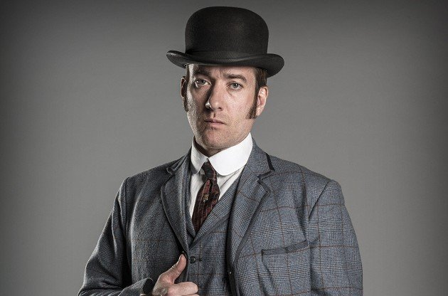 Matthew Macfadyen admitted he sometimes gets the giggles during filming