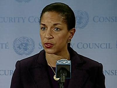 US Ambassador Rice defends Benghazi remarks