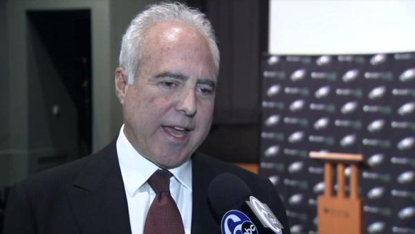 Jeffrey Lurie talks to Action News about head coach change