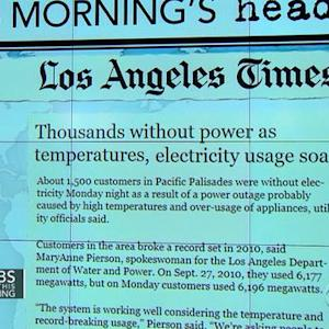 Headlines at 7:30: Heat wave in California drives electricity use to new levels