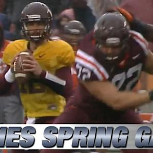 2015 Virginia Tech Football Spring Game Highlights