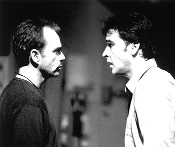 Billy Bob Thornton and John Cusack in Pushing Tin