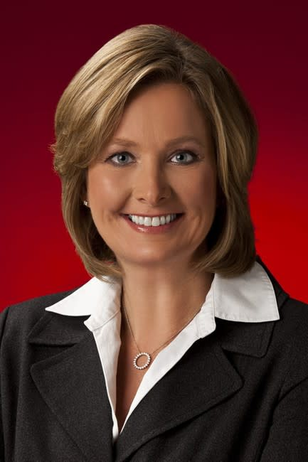 This undated image provided by Target Corp shows Chief Information Officer Beth Jacob. Jacob is resigning effective Wednesday, March 5, 2014, as the retailer overhauls its information security and com