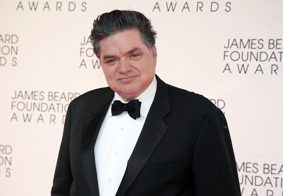 Actor Oliver Platt arrives at the James Beard Foundation Awards Gala on Monday, May 6, 2013, in New York. (Photo by Andy Kropa/Invision/AP)
