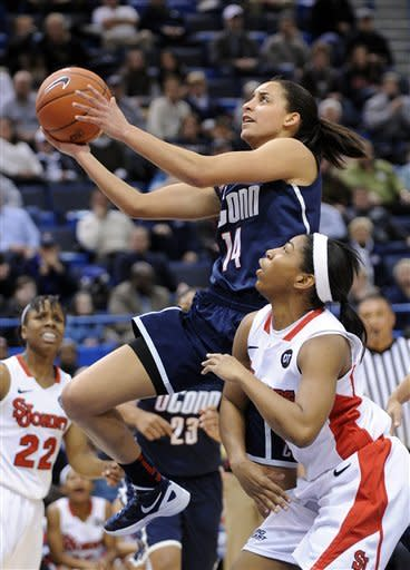 UConn women beat St. John's, make Big East final